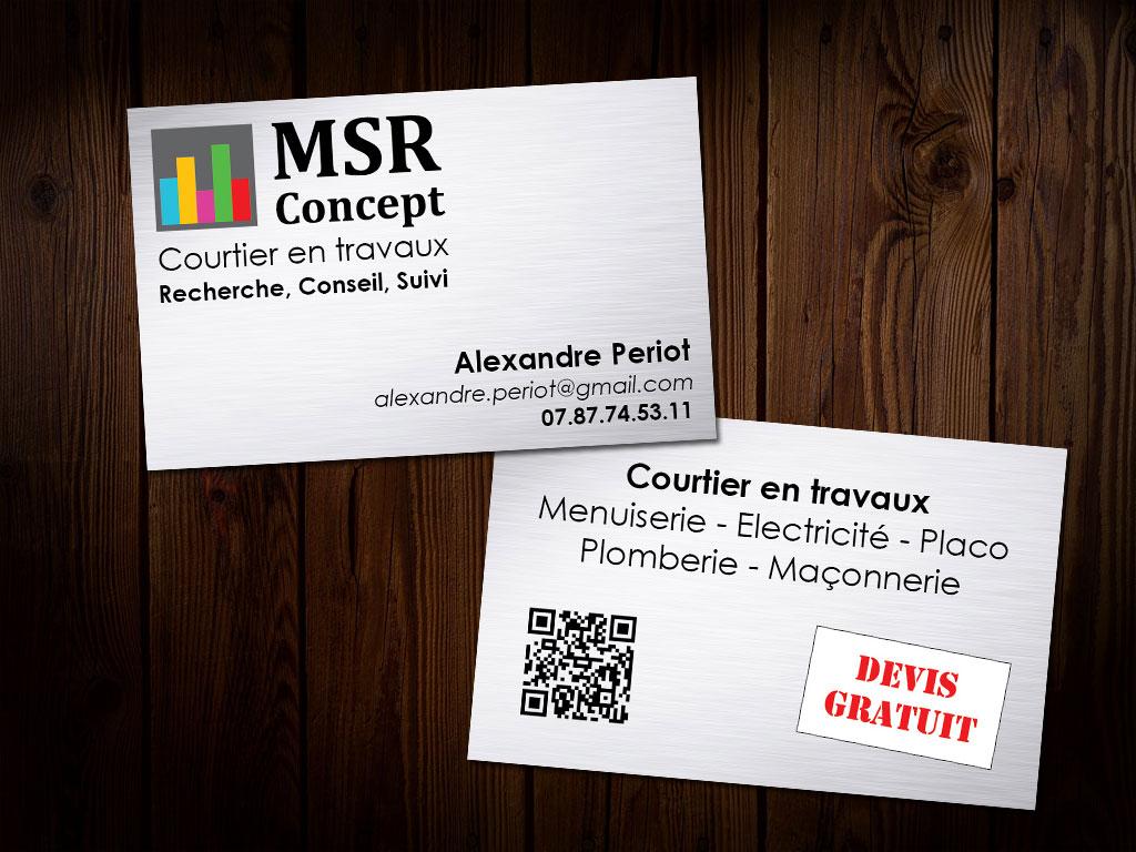 MSR Concept - Carte de VisiteMSR Concept - Carte de Visite